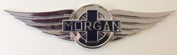 Morgan Cowl Badge Plain / Aero 8